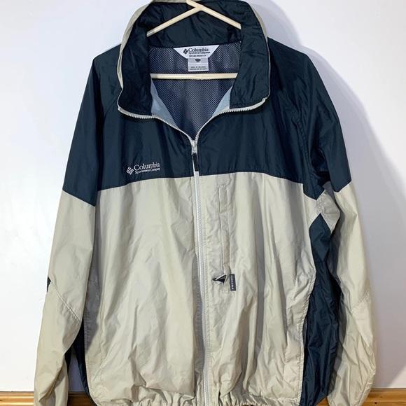 Columbia Mens Outdoor Jacket/Windbreaker XXL
